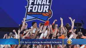 CBS Sports 2019-2020 College Basketball Schedule [Video]