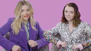 Chloë Grace Moretz Plays I Dare You With Elsie Fisher [Video]