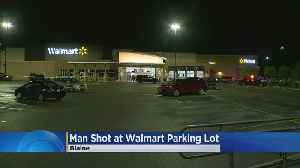 Blaine Police: Man Hurt In Early Morning Shooting At Walmart Parking Lot [Video]