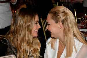 Cara Delevingne reveals why she's 'the luckiest girl in the world' [Video]