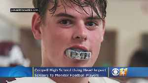 Coppell High School Using Head Impact Sensors To Monitor Football Players [Video]