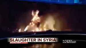 News video: ABC News Issues Apology Over Fake Syria Bombing Video
