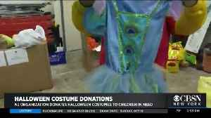 NJ Organization Donates Halloween Costumes To Children In Need [Video]