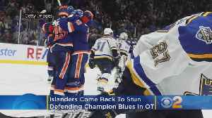 Islanders Come Back From The Dead, Then Stun Defending Cup Champion Blues In Overtime [Video]