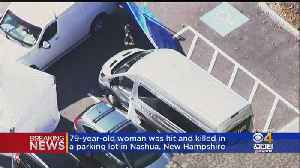 79-Year-Old Woman Dies After Being Hit By Van In Parking Lot [Video]