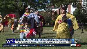 JHU celebrates Indigenous People's Day [Video]