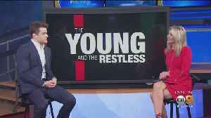 Actor Michael Mealor Talks 'Young And The Restless' [Video]