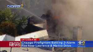 Fire Rips Through Uptown Condo Building [Video]