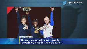 St. Paul Gymnast Wins 3 Medals At World Gymnastic Championships [Video]