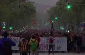 Protests erupt after Spain jails separatist leaders [Video]