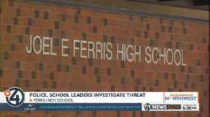 Extra police on campus at Ferris High School amid threat investigation [Video]