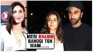 Kareena Kapoor REACTS On Brother Ranbir Kapoor's Affair With Alia Bhatt | MAMI 2019 [Video]