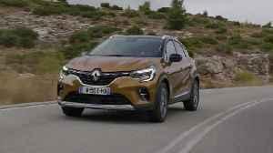 2019 New Renault CAPTUR tests drive in Greece in Atacama Orange colour Driving Video [Video]