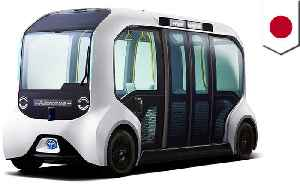 News video: Toyota supplies driverless bus for 2020 Olympics