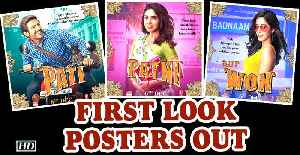 Pati Patni Aur Woh | Kartik as Pati, Bhumi as Patni And Ananya as 'Woh' | First Look Posters Out [Video]