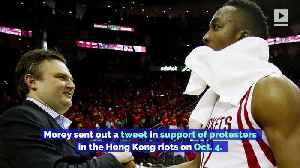 LeBron James Believes Daryl Morey Was 'Misinformed' About China and Hong Kong [Video]