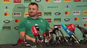 Irelands Cian Healy on Quarter-final against All Blacks [Video]