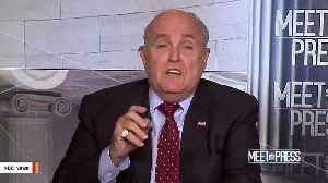 Report: Giuliani Says He's Not Complying With Congressional Subpoena [Video]