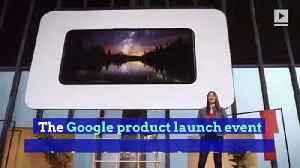 Google Reveals Pixel 4 Smartphone [Video]