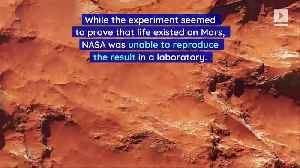 Former NASA Scientist Claims They Found Life on Mars 40 Years Ago [Video]