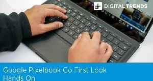 Google Pixelbook Go First Look | Hands On [Video]
