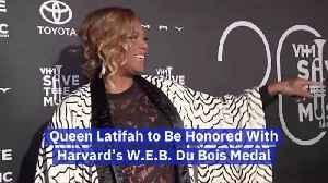 Queen Latifah Given Harvard's WEB Du Bois Medal [Video]