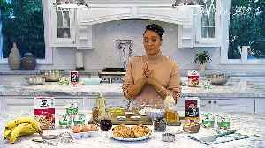 Tia Mowry-Hardrict Talks Work, Family and Food [Video]
