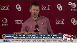 Lincoln Riley Talks OU Defense [Video]