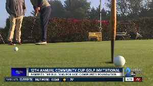 12th annual Community Cup Golf Invitational held Monday [Video]