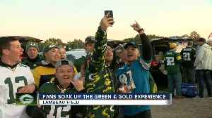 Fans soak up the green and gold experience at Lambeau Field [Video]