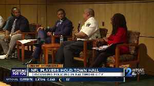 NFL players discuss policing in Baltimore City [Video]