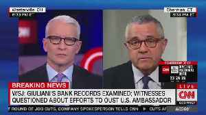 CNN's Jeffrey Toobin: Giuliani has not been charged with crime [Video]