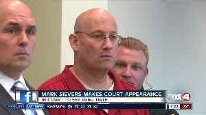 Mark Sievers makes court appearance Monday [Video]