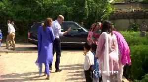 Duke and Duchess of Cambridge visit Pakistan [Video]