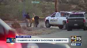 Man arrested in Mexico in connection with deadly Casa Grande shooting, 2 others still on the loose [Video]