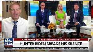 Rep. Jim Jordan on Hunter Biden interview [Video]