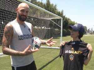 How to Workout Like L.A. Galaxy's Jelle Van Damme [Video]