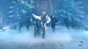 James Van Der Beek's Pirates of the Caribbean Paso Doble [Video]