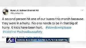 Students injured in Kuna school bus crash [Video]