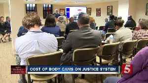 City leaders discuss implementing police body cameras [Video]