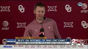 Lincoln Riley Talks OU Defense [Video]