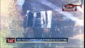 Police: Father, two daughters dead in Pendleton County fire [Video]