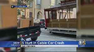 5 Hospitalized After Cable Car Collision In San Francisco's Nob Hill [Video]