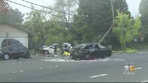 Man Arrested For Fatal Santa Rosa DUI Crash That Killed Homeless Woman In Her Car [Video]