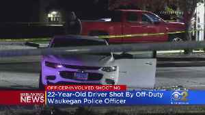 Man Shot, Wounded By Police In Waukegan [Video]