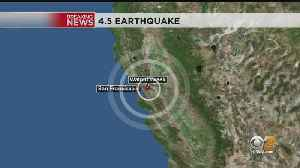 Strong Earthquake Strikes In San Francisco Bay Area [Video]