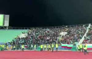 News video: England soccer match twice suspended amid racist chants
