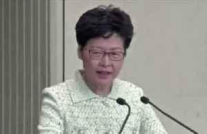 'Totally irresponsible': Lam slams U.S. senators [Video]