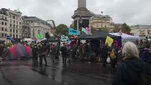 Extinction Rebellion protesters removed from Trafalgar Square [Video]