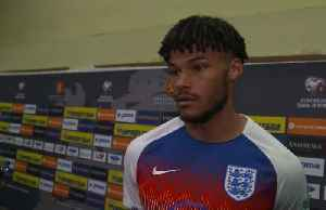 I heard it during the warm-up, says England player Tyrone Mings on racist abuse [Video]
